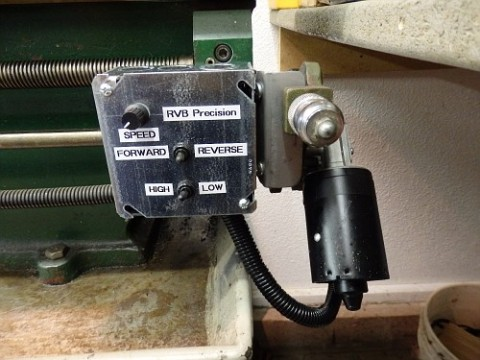 POWER FEED MODIFICATION ON JET 12X36 LATHE